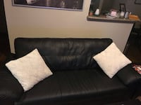 Black leather couch Houston, 77002