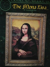 The Mona Lisa cross stitch booklet Gainesville, 32609