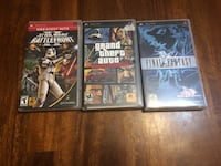 Final fantasy, GTA liberty City Stories, Star Wars Battlefront 2 (PSP) North Vancouver, V7P 1S3