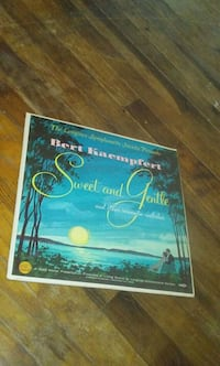 Bert Kaemfet stereo vinyl album cover Chicago, 60620