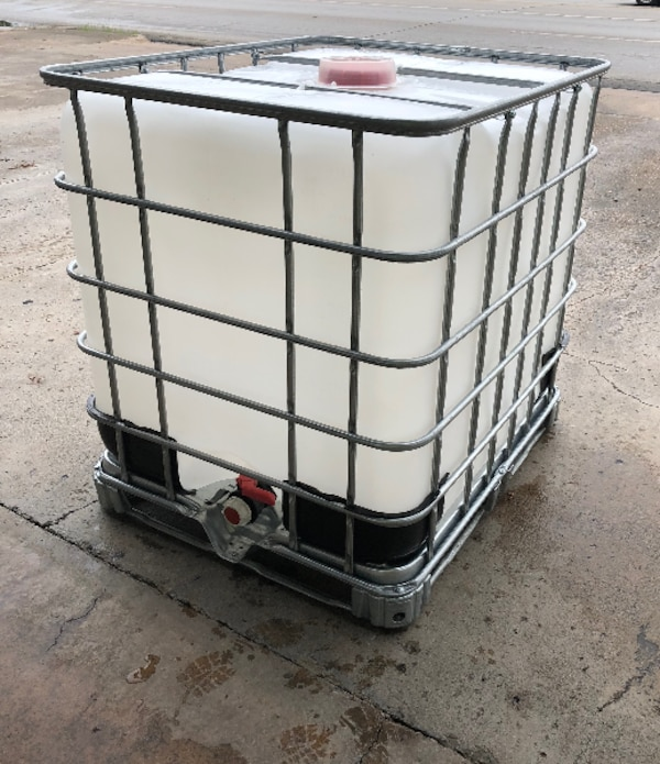 Used Potable Water Tank Food Grade Ibc Tote 275 Gallon Liquid Bulk