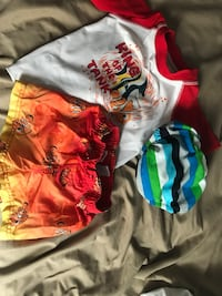 Boys swim suit  w swim diaper 6/9mos-12mos Chicago, 60638