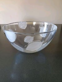 Glass Serving Bowl!
