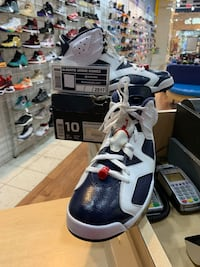 Air Jordan 6 Olympic London 2012 Size 10 Silver Spring, 20902