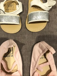 6-12 baby girl shoes - new Langley, V2Y 2W9