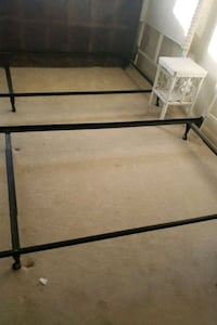 Bed frame and box spring for twin bed