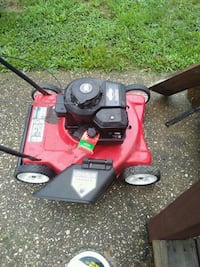 red and black push mower Evansville, 47720