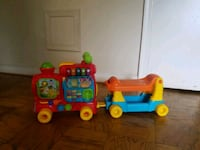 Vtech Sit-to-Stand ultimate alphabet train Falls Church, 22042