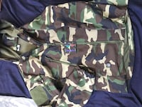 Camouflage jacket brand new. Never used.