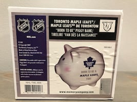 BNIB Toronto Maple Leafs Piggy Bank