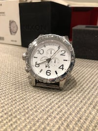 Nixon 51-30 Chrono High polish/White Gressvik, 1624