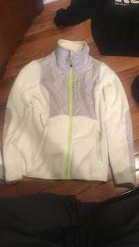 white, grey, and green full-zip jacket Westmont, 60559