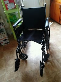 black and gray folding wheelchair Winchester, 22601