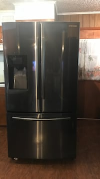 Black Stainless steel french door refrigerator Big Sandy, 75755