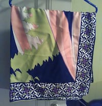 "Emilio Pucci Scarf (never used) 34""x 34"" New York"