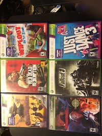 Xbox 360 games $10 each or all 6 for $30 Edmonton, T5B 0E4