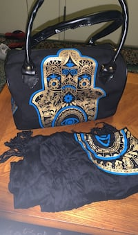 Site bag and scarf  Montreal, H3J 1L2