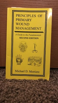 Principles of primary wound management textbook, pocket book, medical Valparaiso, 46385