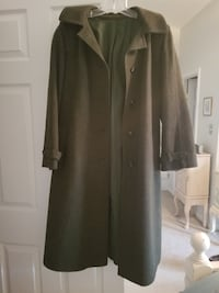Zeiler Hunter green Loden wool coat Centreville