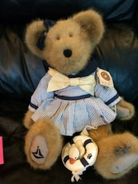 brown and black bear plush toy Hanover, 17331