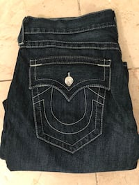 TRUE RELIGION JEANS SIZE 36 NEW (Scarborough) Toronto, M1S 1V9