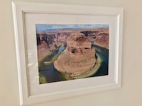Black IKEA frame includes photo of Grand Canyon Bethesda, 20814