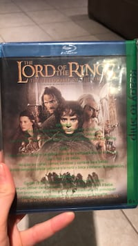 Blue ray lord of the rings Hawkesbury, K6A