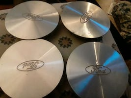 4 Ford hubcaps for a van