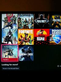 Xbox account with good games Aspen Hill, 20906