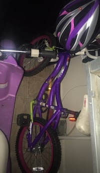 purple and pink bicycle with training wheels Oxon Hill, 20745