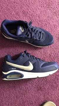 pair of black-and-white Nike running shoes Riverside, 92508