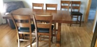 Counter height dining table and six chairs Ankeny, 50023