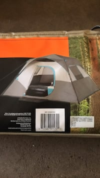 6-person instant cabin tent. Never opened before. Brand new