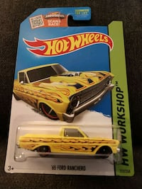 65 Ford Ranchero HotWheels Car 212/250 Charleston, 29414