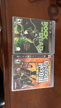 two PS3 game cases and one game case Maple Ridge, V2X 9M2