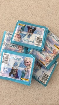 Frozen sticker packs - 50 packs of 7 stickers each, new and unopened Gilbert, 85298