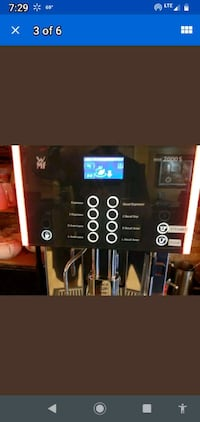commercial Capuccino machine