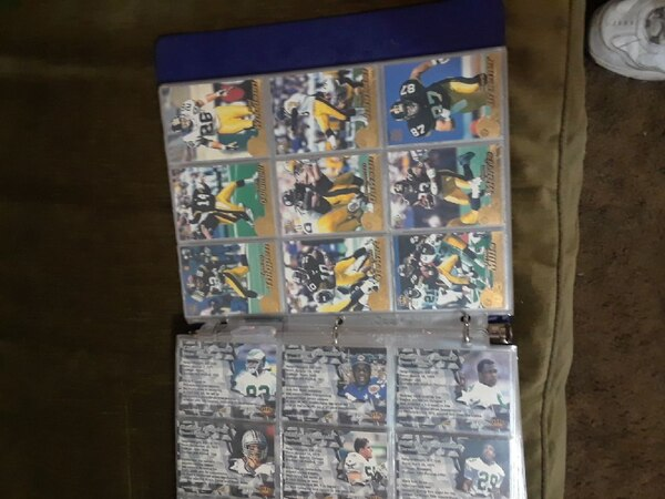 1996 Pacific collection football trading cards