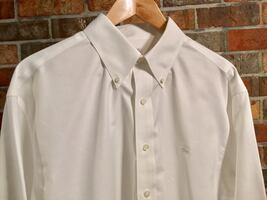 BROOKS BROTHERS Button Down Lux Cotton Long Sleeve Casual Dress Shirt