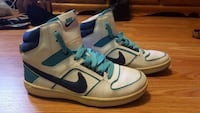 white and blue Nike high-top sneakers Dartmouth, B2W