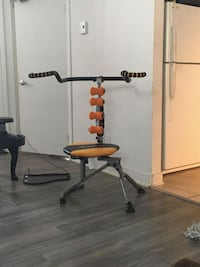black and orange exercise equipment Laval, H7A 4E5