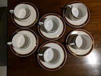PTS INTERNATIONAL INTERIORS Coffee/Tea set of 6 Vaughan, L4H 3T6