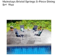 Out patio table set new