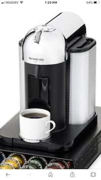 Nespresso vertuoline expresso or regular coffee matching . Burnaby, V5H 1Z9