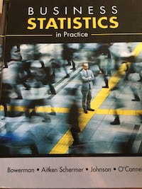 Business Statistics in Practice textbook London, N6J 1H1