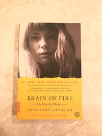 Brain on Fire book by Susannah Cahalan  Payson