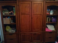 brown wooden cabinet with drawer Binghamton, 13905