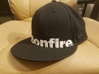 black and white Adidas fitted cap Fayetteville