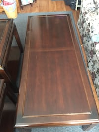 Mahogany colour Coffee & 2 end tables Toronto, M3J 1V1