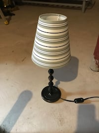 black and white table lamp Grimsby, L3M